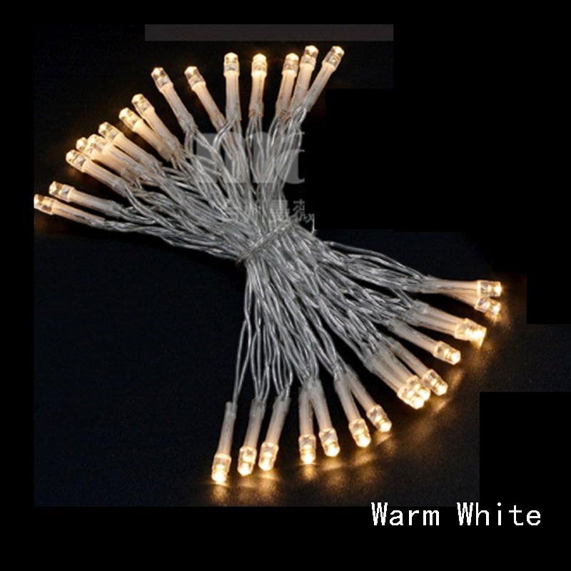 2 м 3 м 4 м 5 м 10 м светодиодный Сказочный свет 3* AA на батарейках водонепроницаемые рождественские огни для праздничное украшение для вечеринки, свадьбы