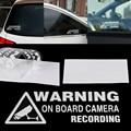 Universal Auto Styling Fenster Lkw Auto Vinyl Aufkleber Dekor Auto Aufkleber Warnung Auf Board Kamera Aufnahme