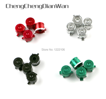 100sets Universal Metal Bullet Buttons Thumbstick Cap For PS4 For Dualshock 4 For Xbox Controller Analog Joystick Stick Module