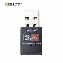 Kebidu 600 mb/s bezprzewodowy adapter usb wifi dwuzakresowy bezprzewodowy dostęp do internetu anteny PC karta sieciowa 2.4 + 5Ghz usb Lan Ethernet odbiornik 802.11ac HOT