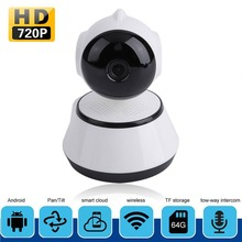 цена на Home Security Wireless IP Camera Wi-Fi Wireless Mini Network Camera Surveillance Wifi 720P Night Vision CCTV Camera Baby Monitor