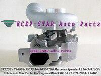 GT2256V 736088 5003S 736088 A6470900280 Turbo Turbocharger For Mercedes Benz Sprinter I 216CDI 316CDI 416CDI 2004 OM647 DE 2.7L