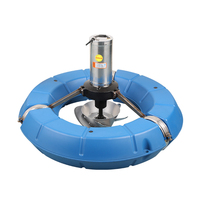 Fishpond Aerator Impeller Aeration Oxygen Pump Floating Water Pump Large Scale Farming Pond Oxygen Machine 20m