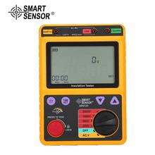 SMART SENSOR AR3123 250/500/1000/2500V Megger Insulation Earth Ground Resistance Tester Megohmmeter Voltmeter Tester цена