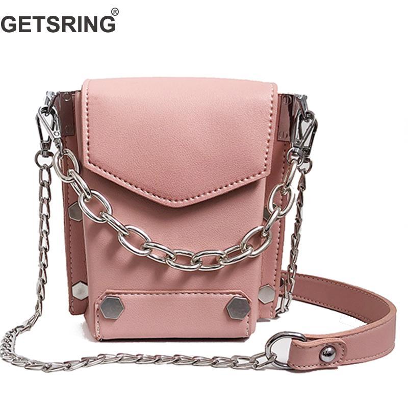 GETSRING Women Bag Women Handbag Shoulder Bags Crossbody Bags For Woman 2018 New China Pink White