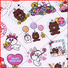 40 pcs birthday party love personalized scrapbook Stickers scrapbooking material sticker happy planner decoration