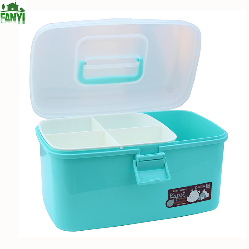 FANYI Multi Functional Cosmetic Storage Box Plastic Household Medicine Box  Art Supplies Container For Free Shipping In Storage Boxes U0026 Bins From Home  ...