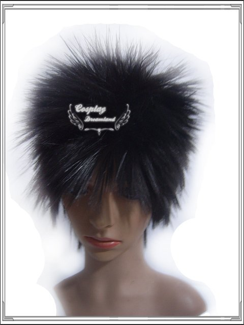 Wholesale Free Shipping Hot Selling Cheapest Halloween Bleach Cosplay Wig hisagi shuuhei Wig without headband