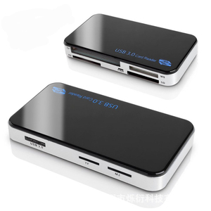Image 5 - Baolyda מיקרו USB קורא כרטיסי 3.0 SD/TF Cardreader USB 3.0 כל אחד SD/מיקרו SD/ TF/CF/MS קומפקטי פלאש חכם USB כרטיס מתאם