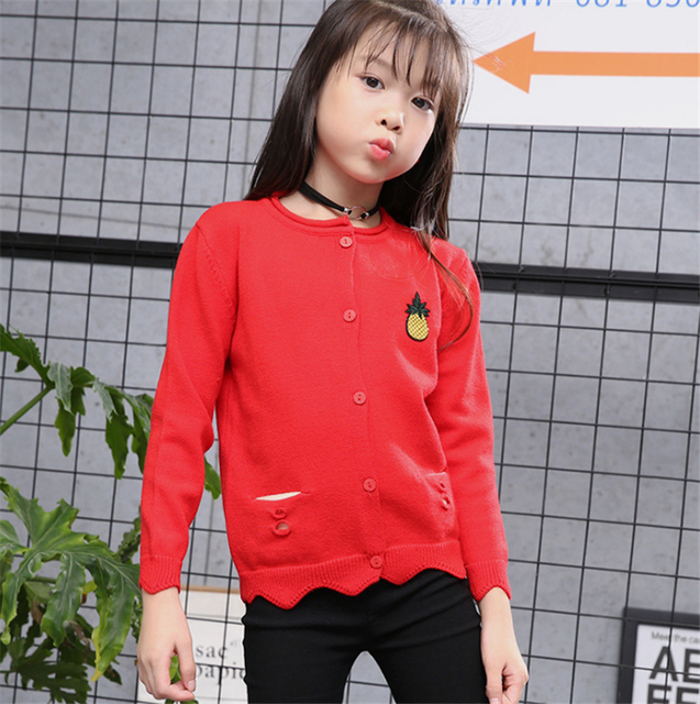 39a2f24a6 Hot Sale High End England Style Knitted Girls Clothing Children ...