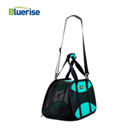Super Clear Folding Cat Bag Carry And Shoulder Pet Bag With Cotton Pad And Traction Hook Cat Carrier YKK Zipper Transport Cats