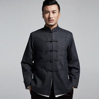 2018 Sale Selling Young And Middle aged Tangzhuang Overcoat Qiu Dong With Then Shoulder Sleeve Lining Plain Coloured With 0769