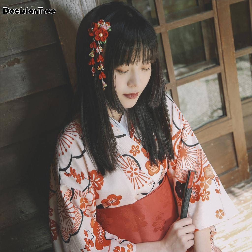 2019 New Japanese Yukata Robes Kimono Pajamas Sets Warm Thickening