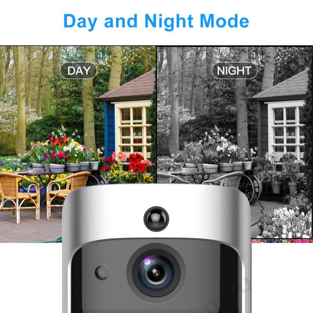 EKEN Smart Video Doorbell 2 în timp real 720P HD Video Wifi aparat - Camera și fotografia - Fotografie 3