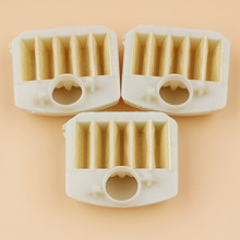 3Pcs/lot Air Filter For HUSQVARNA 340 340e 345 345e 350 346 XP 353 351 Chainsaw Parts 537024002