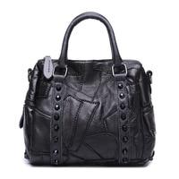 Original Single Foreign Trade Imported Sheepskin Package Ma Am Genuine Leather Handbag Fashion Bag Diagonal Trend