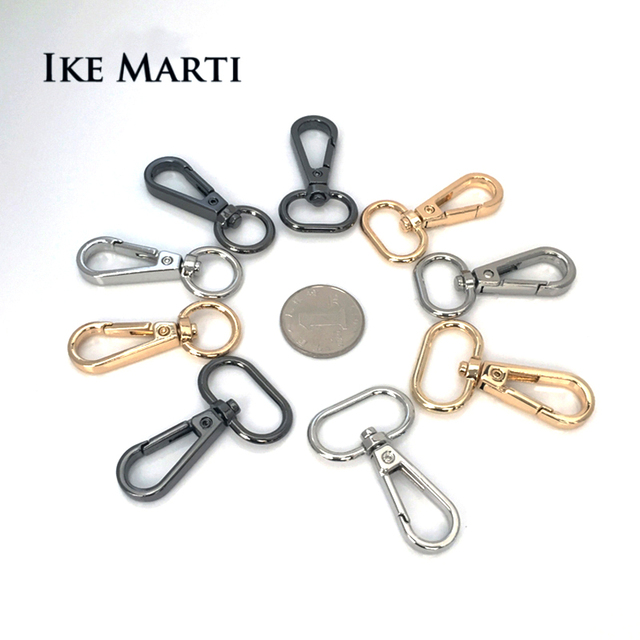 Luggage Dog Buckle For Shoulder Handbag DIY Lobster Clasp Snap Hook For Bag Strap Dog Collar Hanger Bag Parts & Accessories