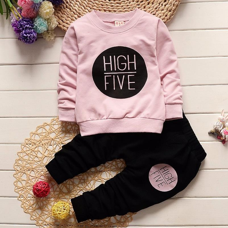 1-4Y new arrival Boy clothing set kids sports suit children tracksuit girls Tshirt pant baby sweatshirt character casual clothes