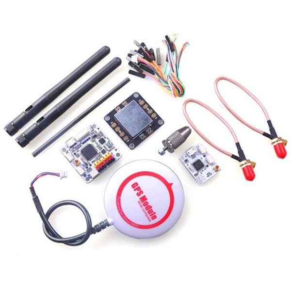 Kits OpenPiolot CC3D Revolution Flight Controller + Oplink + M8N GPS + Distribution Board