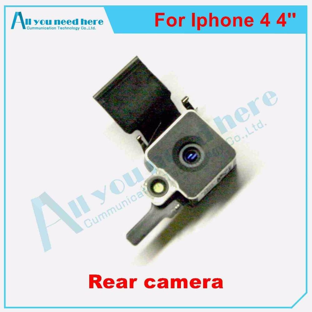 IPH0555 Original OEM Back Rear Camera Photo Head Flash Parts Repair Fix For  iphone 4