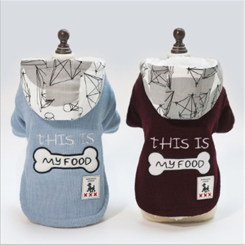 Warm Dog Clothes Puppy Cat Jacket Outfit For Small Dogs Chihuahua French Bulldog Clothing Coat Pet Pug Costume in Dog Coats Jackets from Home Garden