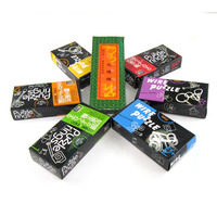 Adult educational toys set ring solution Wire Puzzle IQ Mind Brain Teaser Puzzles Game for Adults and Kids 19 piece set