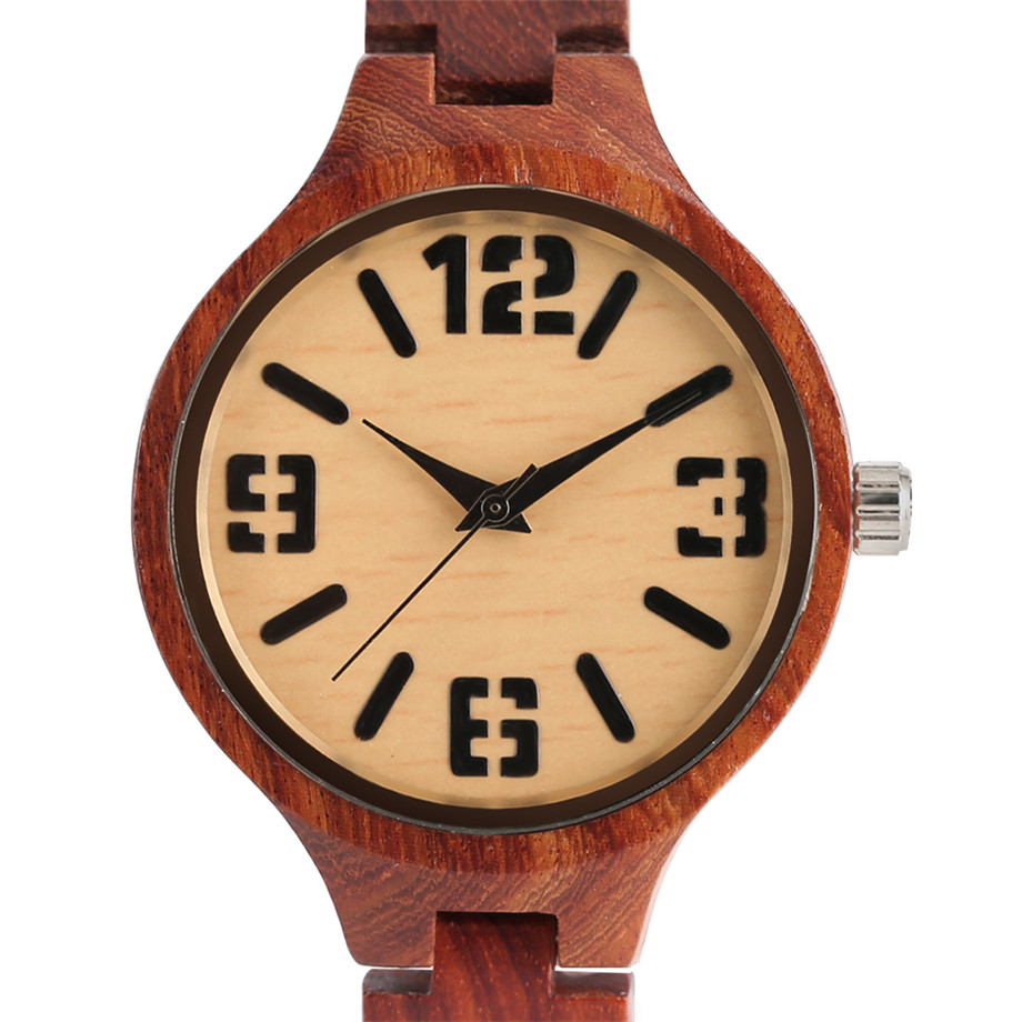 quartz full wood women watches04