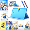 "high quality child cartoon cover For Samsung Galaxy Tab E T560 T561 Fashion PU Leather case For Samsung tab e 9.6"" Tablet Cover"