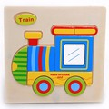 Hot Sale Transportation Wooden Jigsaw Puzzles Toys Wooden Montessori Toys Gift Hot Toys For Children