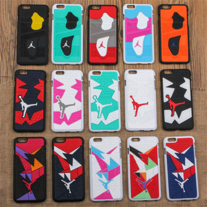 best authentic 9a1f0 1f868 US $3.99 |5.5 inch 3D Jordan Shoe Sole PVC Rubber Case For iPhone 6 Jumpman  15 Phone Cases Cover For iphone6 Plus free shipping on Aliexpress.com | ...
