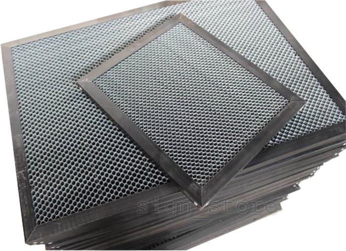 Honeycomb Work Bed Table CO2 50W 60W Tube Laser Engraving Cutting Machine 350x450mm Platform 3040 honeycomb work bed table co2 50w 60w tube laser engraving cutting machine 3050 shenhui sh 3050 350 550x350mm