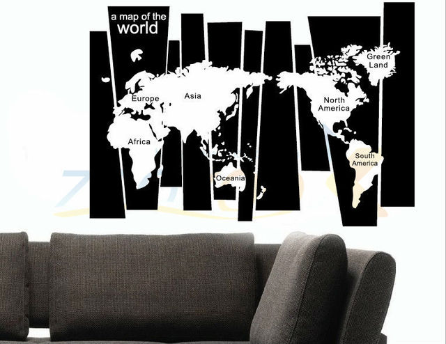 8120 hot 10575cm world map 3dstickers office living room wall 8120 hot 10575cm world map 3dstickers office living room wall decoration adesivo removable gumiabroncs Images