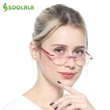 SOOLALA Anti Blue Light Glasses Women Reading Computer Presbyopia Blocking +1.0 to 4.0