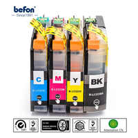 befon 223 Cartridge Replacement for Brother LC223 LC 223 LC223Bk Ink Cartridge for DCP-J4120DW MFC-J4420DW/J4620DW 4625DW 5320DW