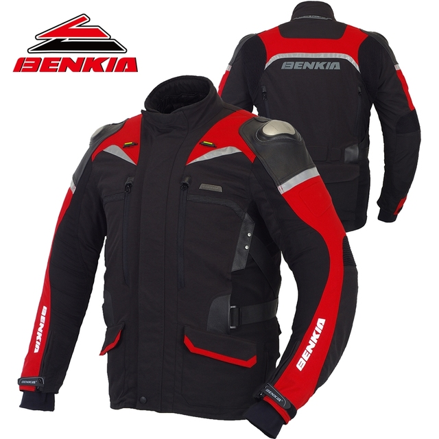 Moto Réfléchissant D'hiver Hommes Benkia Veste Racing xpqTwnaH