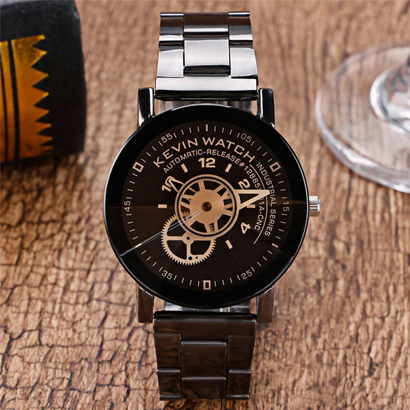 NEW Fashion Women Watches Stainless Steel BandRetro Design Leather Band Analog Alloy Quartz Wrist Watch #2AP25 pu leather band women s quartz analog wrist watch yellow