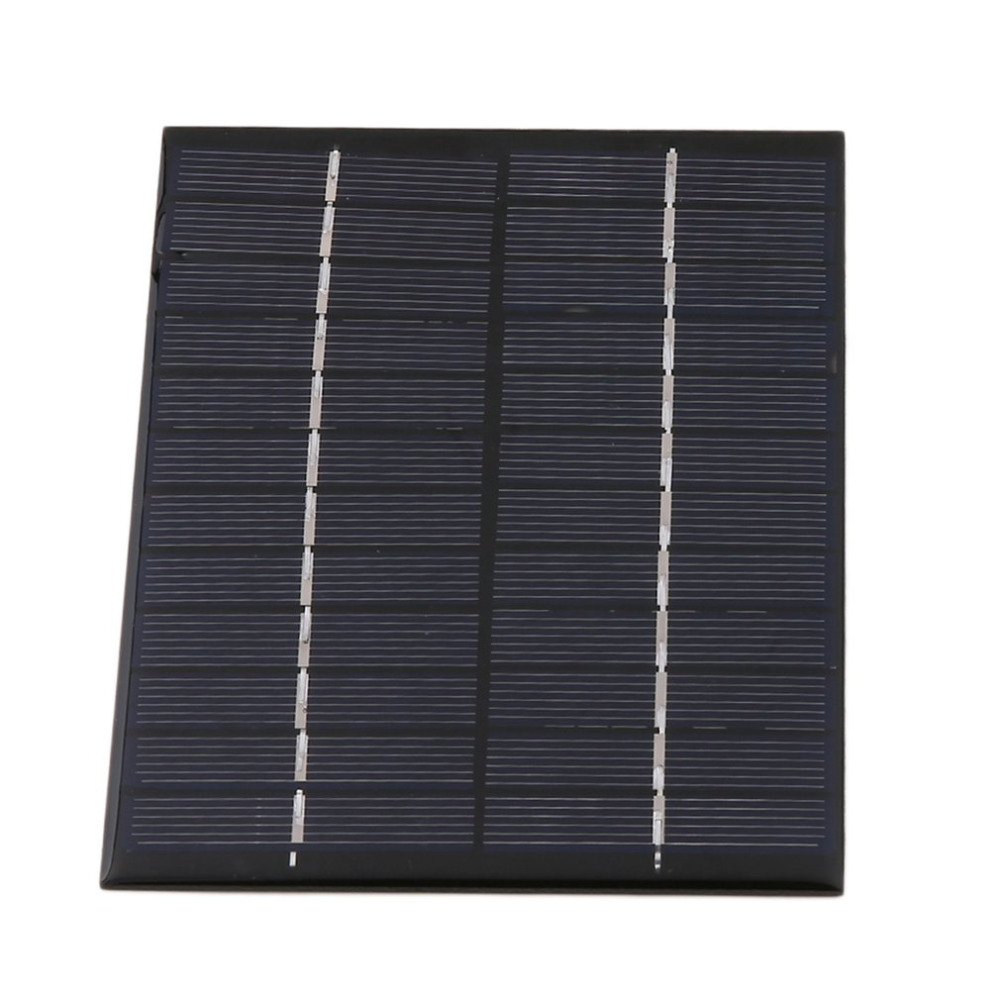 Universal 2W 12V Solar Cell Polycrystalline Silicon Solar Panel Solar Module Mini Portable Solar Charger 135*110*2mm Wholesale