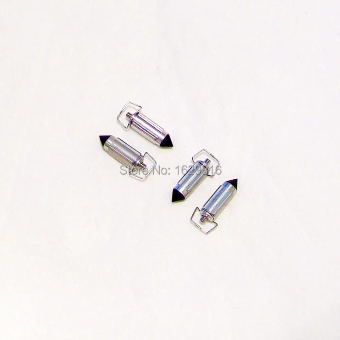 (4 st / pack) HMHonda Keihin förgasare CBR19 / 23R MC14 / 17 / 19R CG125 PZ GY6 CB-1 400 motorcyklar triangulär nål Ventilnål