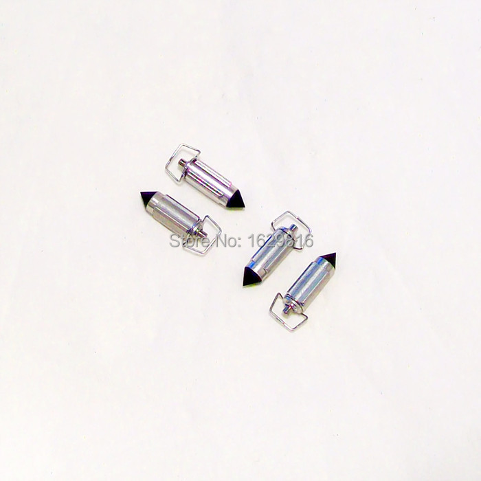 (4 unidades / paquete) HMHonda Keihin carburador CBR19 / 23R MC14 / 17 / 19R CG125 PZ GY6 CB-1 400 motocicletas aguja triangular Aguja de válvula