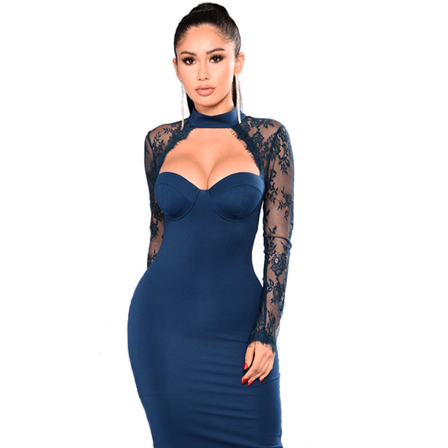 Sexy Bodycon Dress Outfit