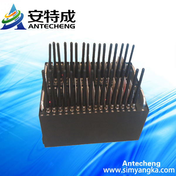 Bulk sms GSM Wavecom Q2406A 32 Ports GSM Modem Pool Ussd stk mobile recharge system