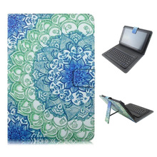 9.7″ 10″10.1″ inch Bluetooth Russian keyboard PU Leather Material Stand Case Keyboard for Tablet PC