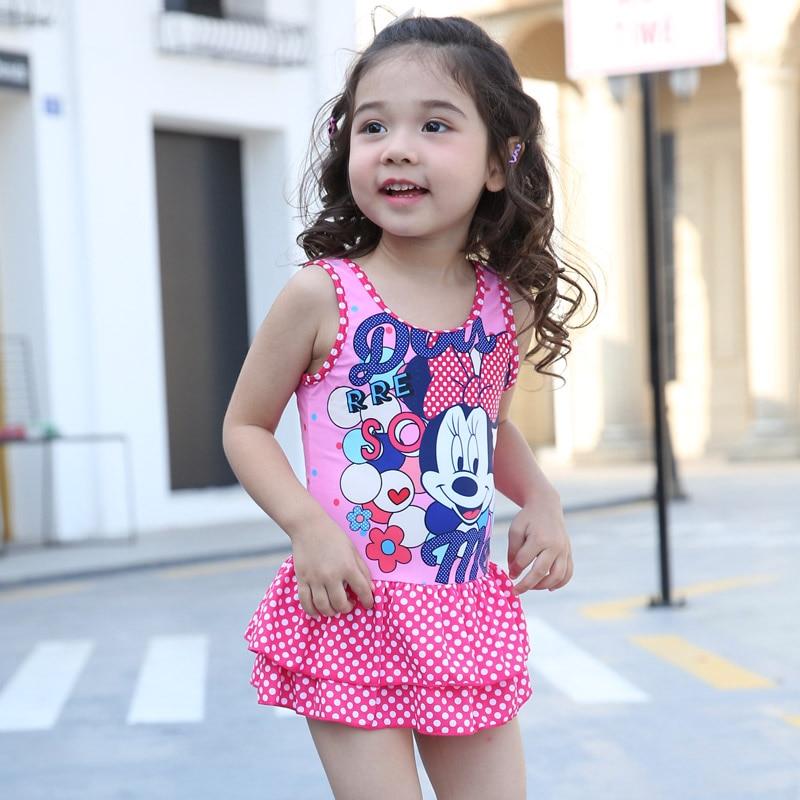Little Girl Beachwear Clothes Girls Swimwear Set Cute Swim -2609