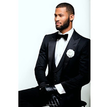 men suits shiny tuxedos for groom wear stain stage dress custom made suit 3 piece suit