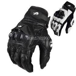 201Hot vente gants de moto professionnels Furygan AFS6 moto gants de course en Fiber de carbone cuir Guantes Sportwear protège-main
