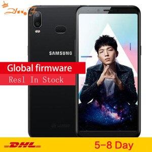 Смартфон Samsung Galaxy A6s G6200, 6,0 дюйма, 6 ГБ ОЗУ 64 Гб ПЗУ, Восьмиядерный процессор Snapdragon 660, мобильный телефон, 3300 мАч, сотовый телефон Android