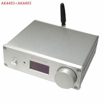 לייט TDA1543 X8 במקביל Hi-end אודיו DAC קואקסיאלי + סיבי קלט