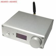 Dual ak4493 * 2 dac bluetooth 5,0 Unterstützung optical coaxial eingang audio decoder 192khz DSD RCA ausgang