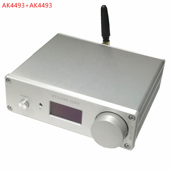 SA9023 + ES9018K2M amplificador de Audio Fever decodificación de potencia  placa USB DAC Tarjeta de