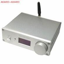 デュアルak4493*2 dac bluetooth 5.0サポート光学同軸入力オーディオデコーダ192 125khz dsd rca出力